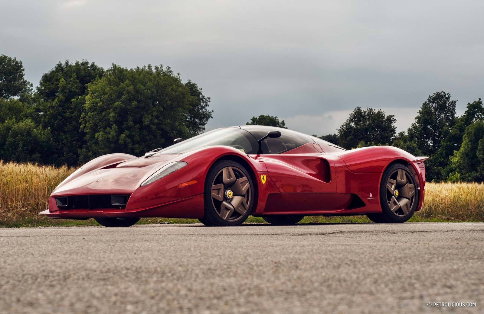 Revisiting The Ferrari P4 5 The Ultimate Modern Dream Car Petrolicious Dream Cars Ferrari Super Cars