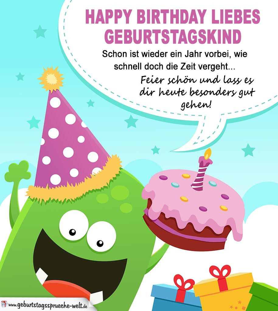 Lustige Geburtstagskarte Fur Kinder Best Of Happy Birthday Liebes