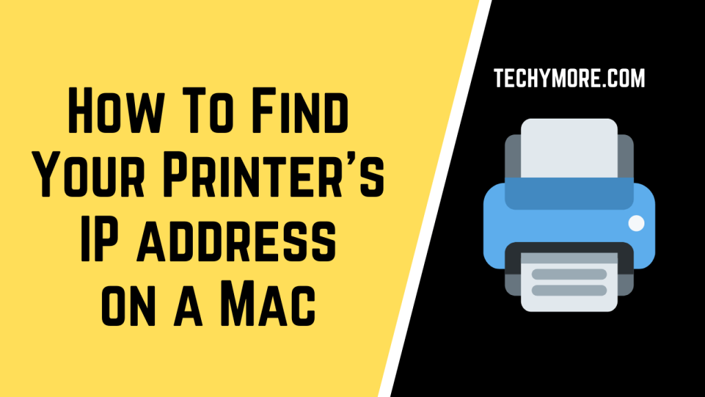 [3 Working Method] How To Find The Printer IP Address