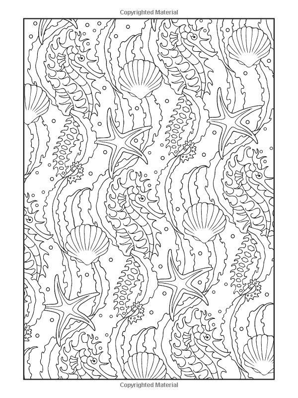 Creative Haven Coloring Pages