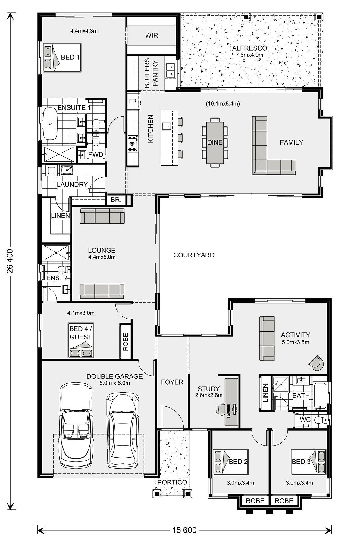 Mandalay 300, Design Ideas, Home Designs in | G.J. Gardner ...