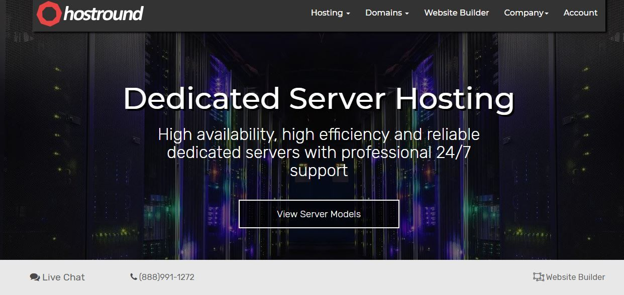 Hostround Llc Provides Dedicated Servers Web Hosting Vps Hosting