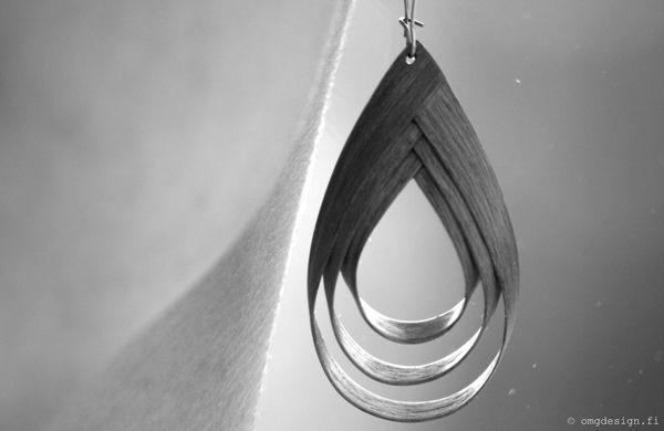 №8 Earrings by Annina Cederström