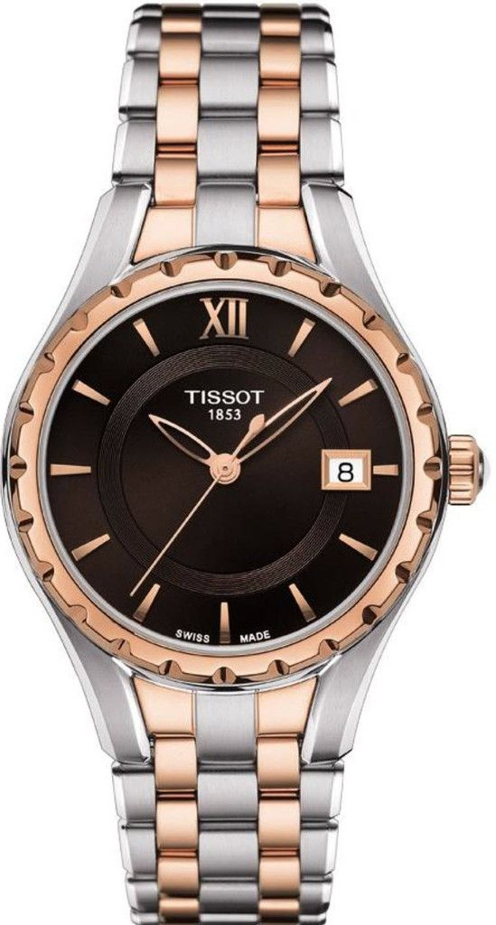 7091256c9ccb0 Tissot Watch T-Lady  bracelet-strap-rose-gold-pvd  brand-tissot   case-material-rose-gold-pvd  case-width-34mm  delivery-timescale-call-us   dial-colour-black ...