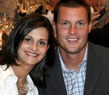 Philip Rivers Wife Tiffany Rivers Playerwives Com Philip River Los Angeles Chargers
