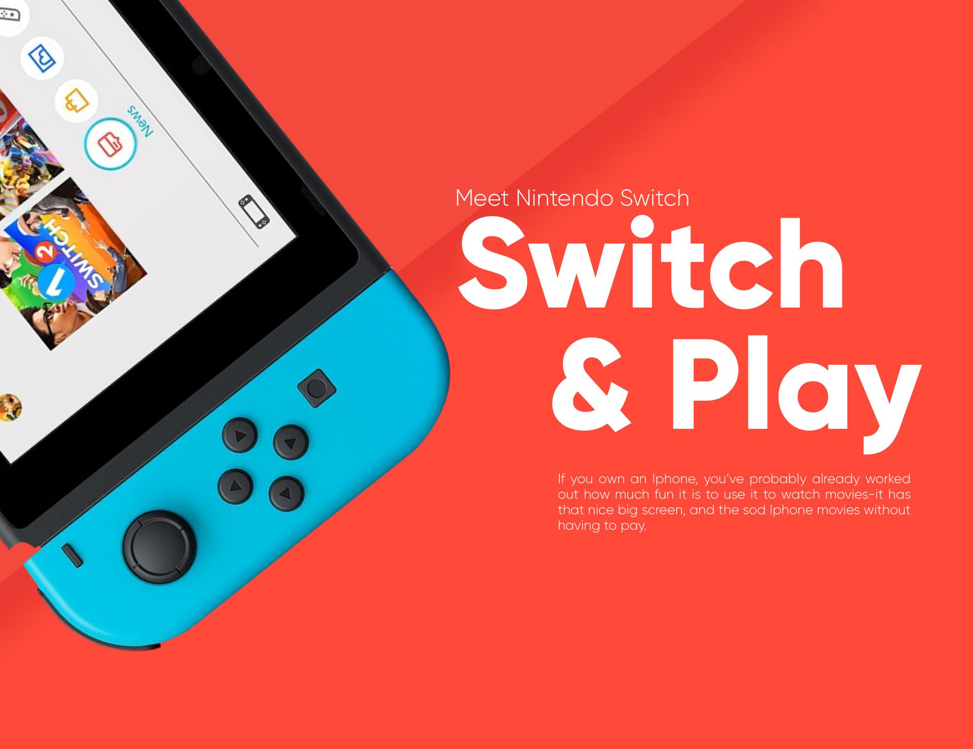 다음 @Behance 프로젝트 확인: \u201cNintendo Switch Redesign Concept\u201d https://www.behance.net/gallery/51352737/Nintendo-Switch-Redesign-Concept