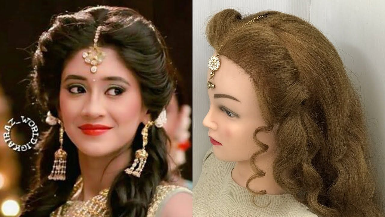 Easy Beautiful Hairstyles For Wedding Or Function Easy And Beautiful Hairstyles Hair Styles Easy Hairstyles