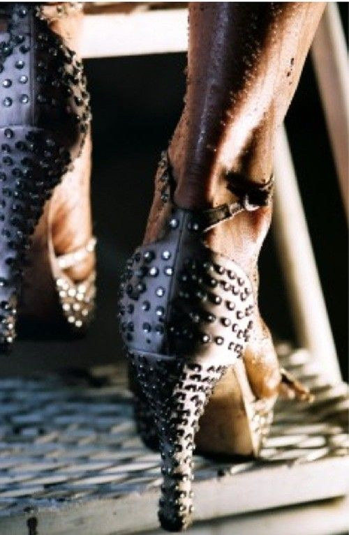 Sexy high heels and ass