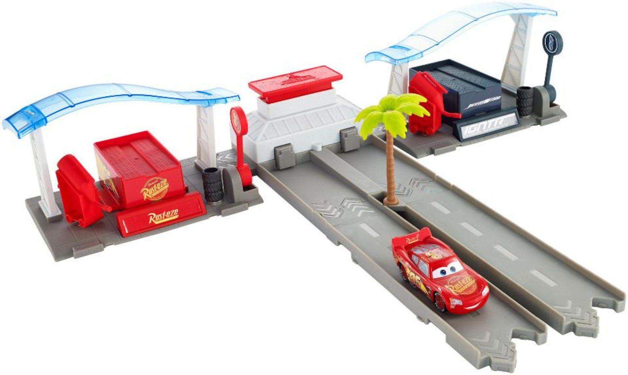 Disney Pixar Cars 3 Florida Speedway Pit Stop Playset | Holidays ...