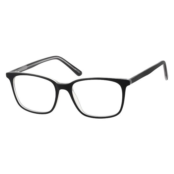 Black Square Glasses #4423521 | Zenni Optical Eyeglasses