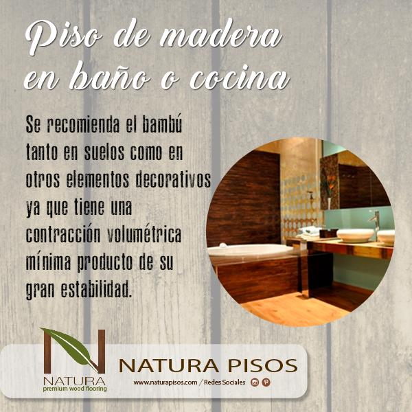 Cuando los pisos de madera se encuentran en una cocina o un baño, se ...