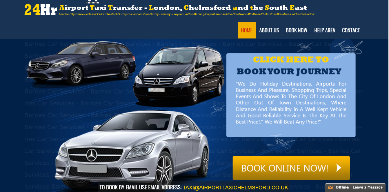 Grab Our Best Transfers Option For Chelmsford To Heathrow Taxi Book Now At Website