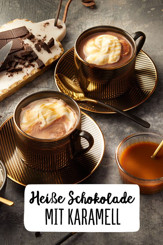 Photo of Hot chocolate with caramel