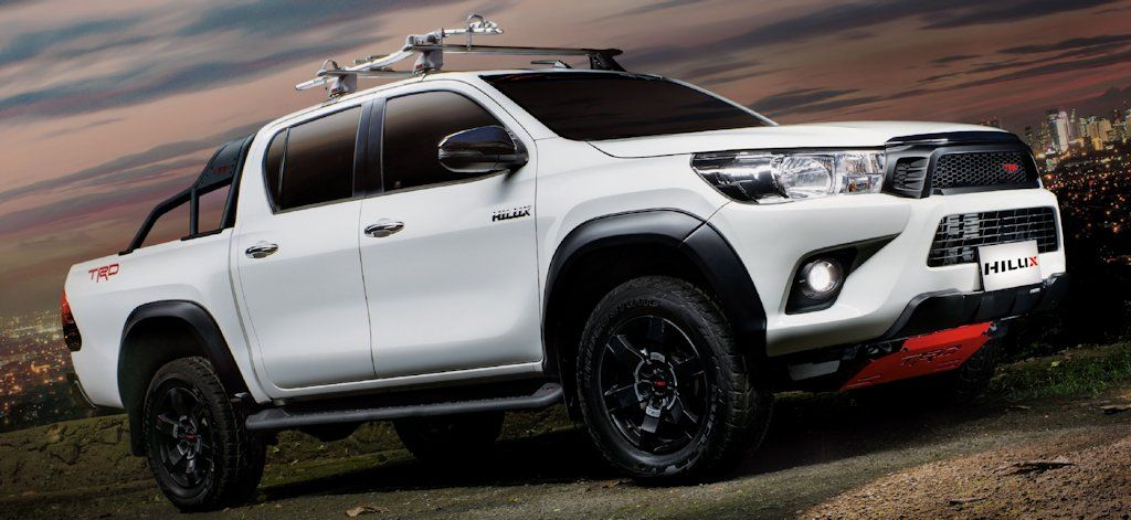 Toyota Motor Philippines Introduces Hilux Trd And Fortuner Trd W Price List Carguide Ph Philippine C Toyota Hilux Toyota Motors Toyota Motor Philippines