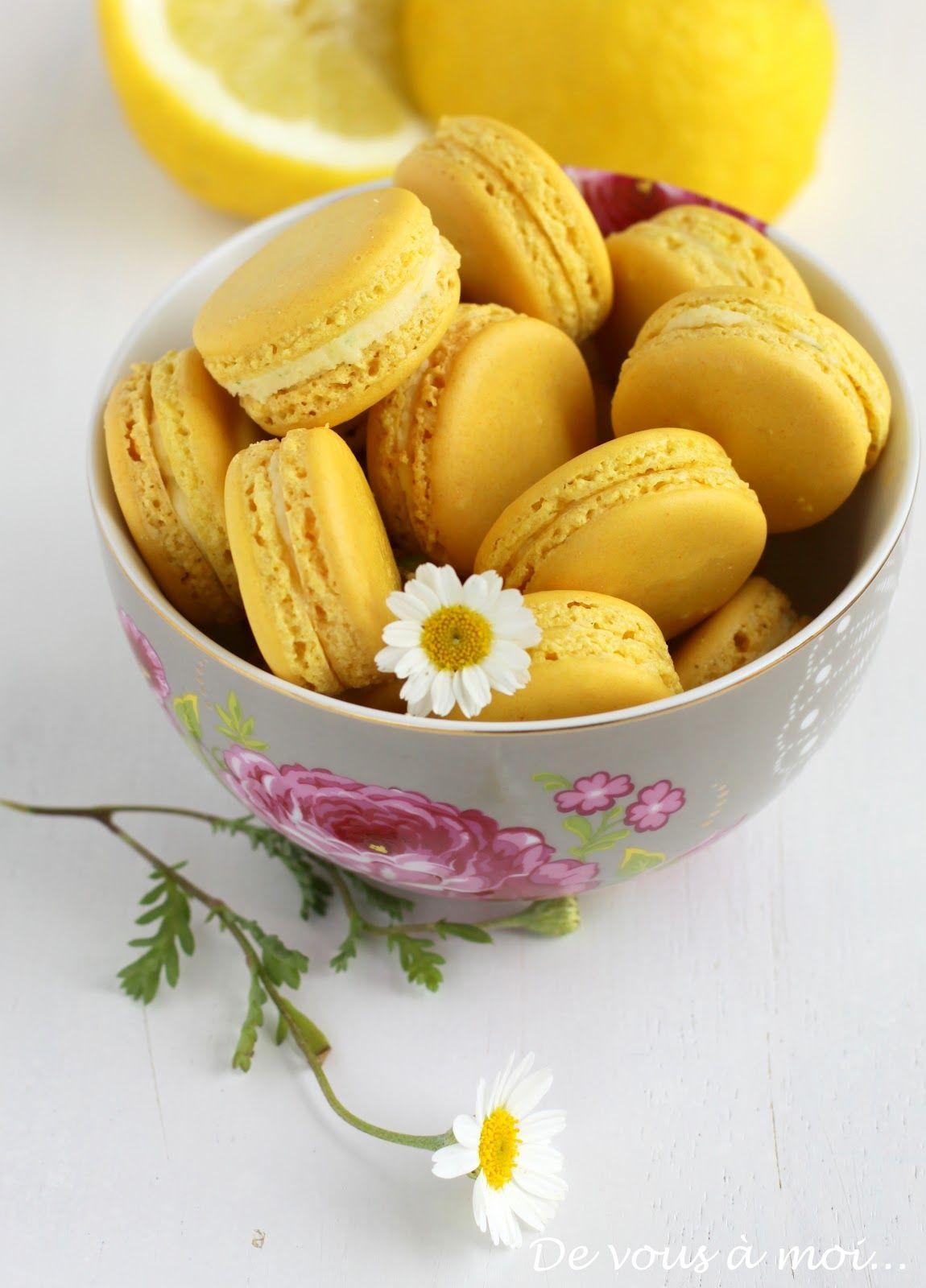 Lemon Macarons #macarons #macaroons