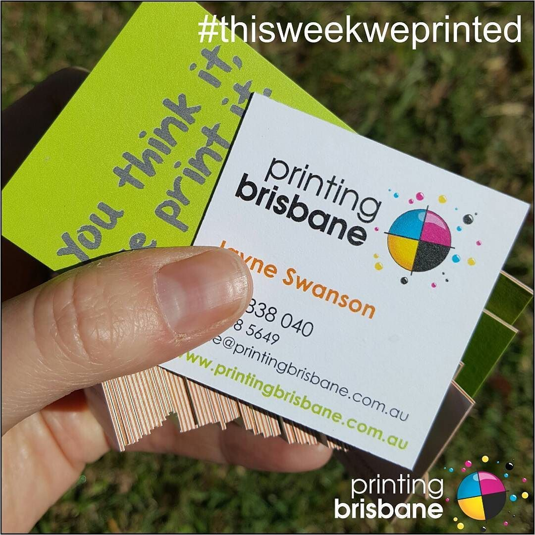 Business card printing brisbane best business cards business cards now at printing brisbane thisweekweprinted from july super thick triple layer square magicingreecefo Gallery