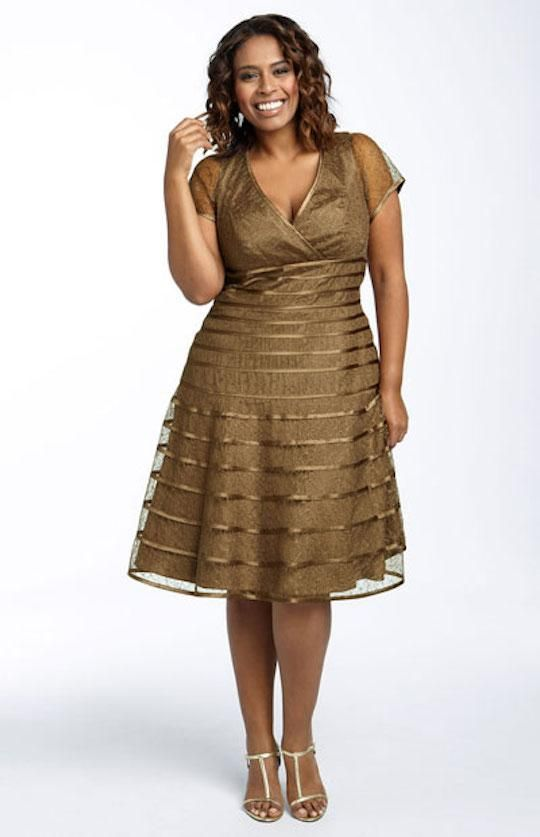 Vestidos elegantes para mujeres flacas