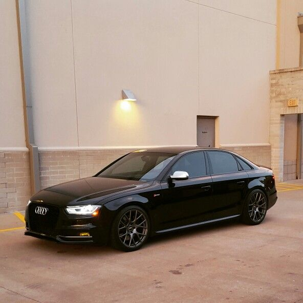 13 B8 5 Audi S4 Lowered With H R Oe Sport Springs Over Vmr V810 Flow Formed 19x9 5 Wrapped In Michelin Pilot Super Sports Window Audi S4 Roadster Car Audi A4