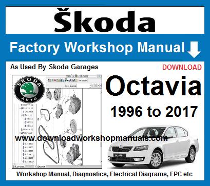 Skoda Octavia 1996 To 2017 Workshop Manual Skoda Skoda Octavia Octavia