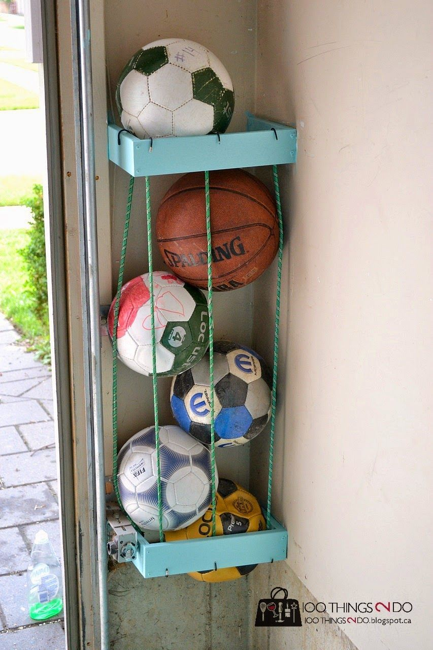 bungee cord for idea storage ardiafm tips organization diy ball garage