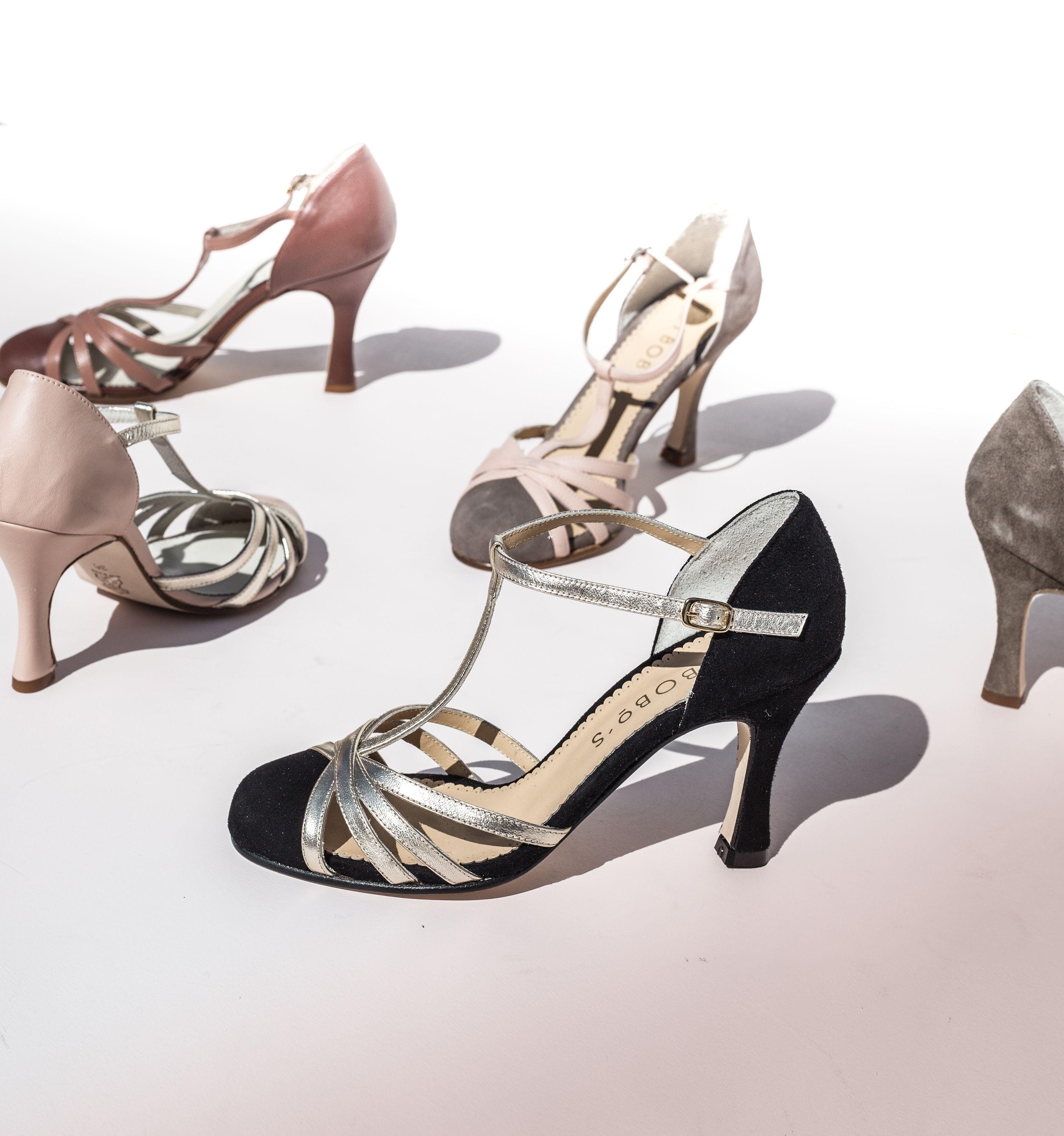huge selection of 5fedc 64a14 Zapatos de tacón estilo años 20. Nos gustan los años 20 por su estilo  elegante