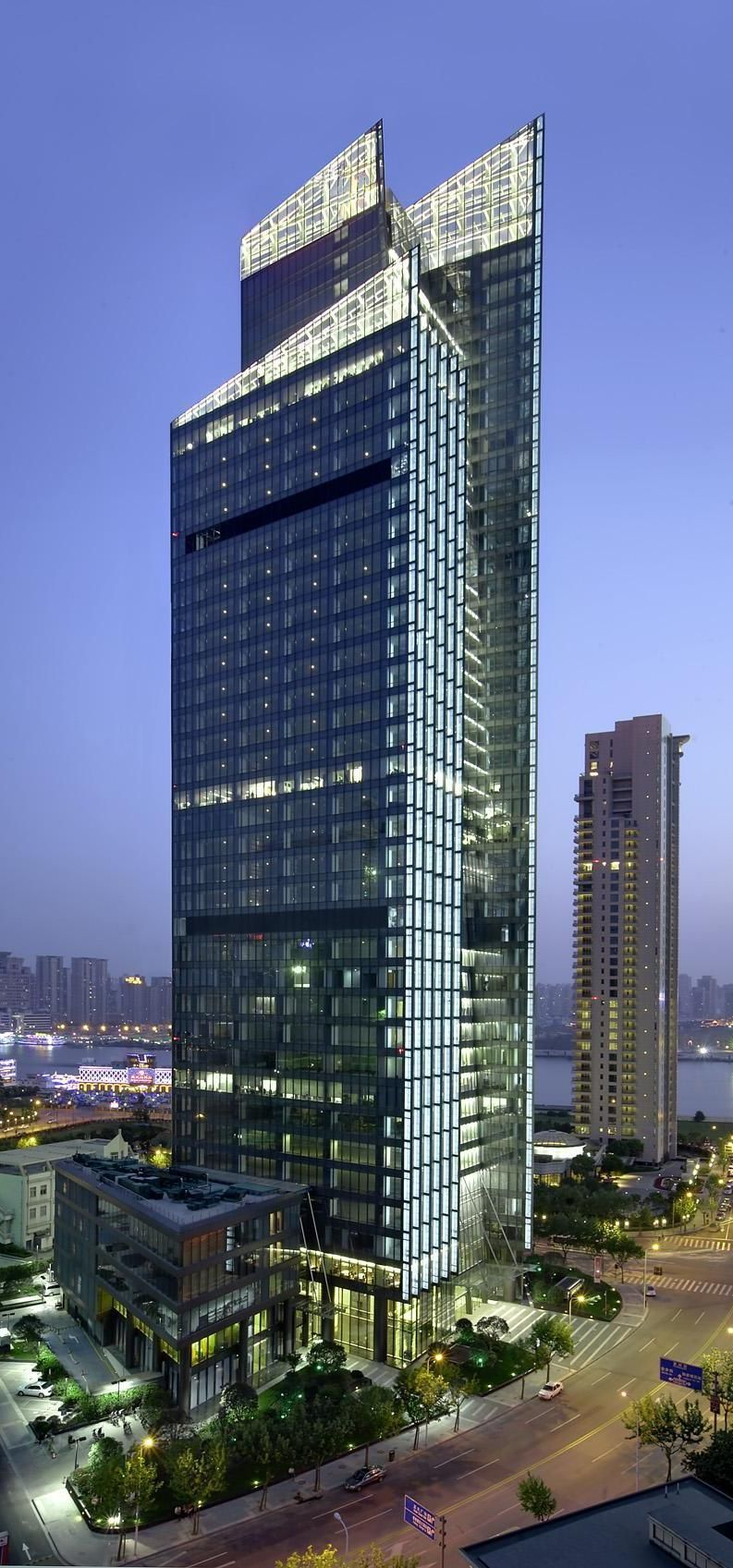 BEA Financial Tower, Shanghai, China By TFP Farrells Architects :: 42 Floors ,