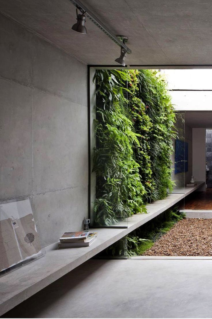 Concrete House Interior Design Ideas Wall Cement Cupboard Designs Shelves Architecture Patta Amsterdam Ben G Homes Interiors Almirah Exposed Wall With Images Interior Garden