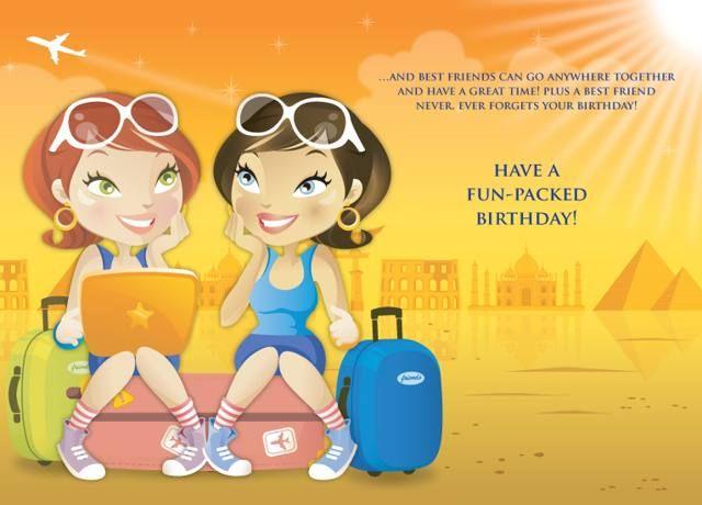 Happy Birthday Best Friends ~ Top happy birthday wishes to best friend in hindi