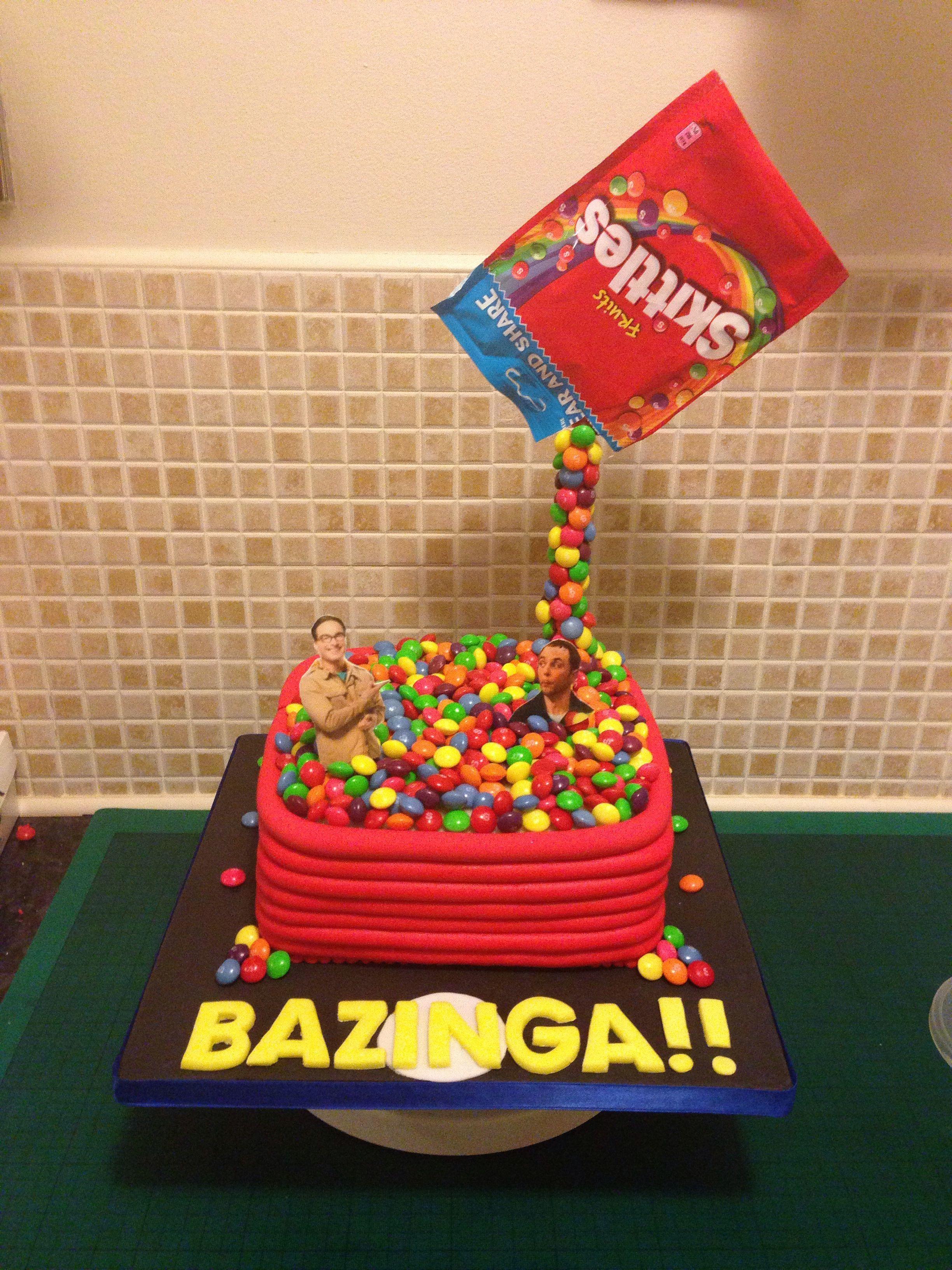 Skittles Gravity Cake Big Bang Theory Ball Pool