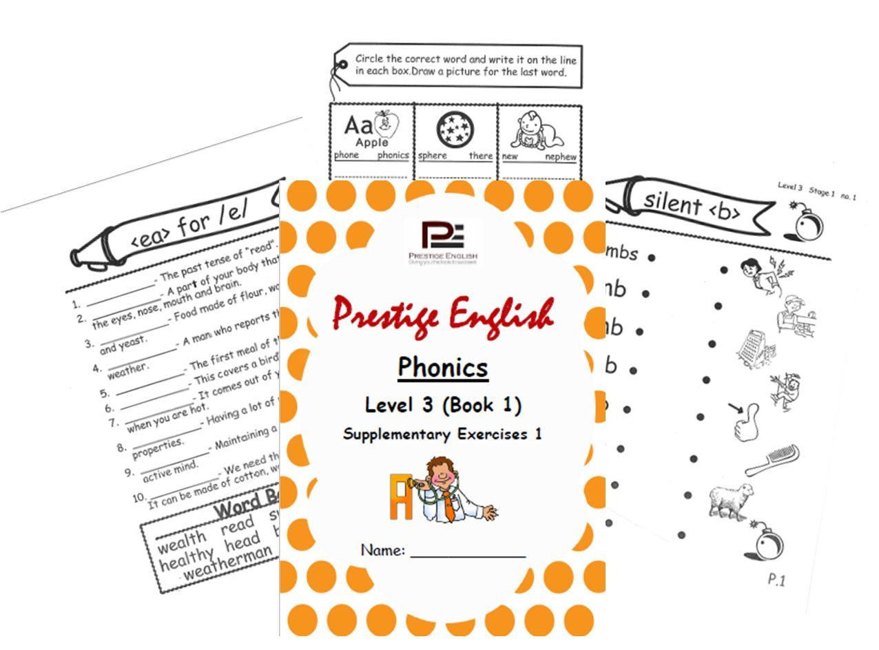 Phonics Book Level 3 Book 1 Supplementary Exercises