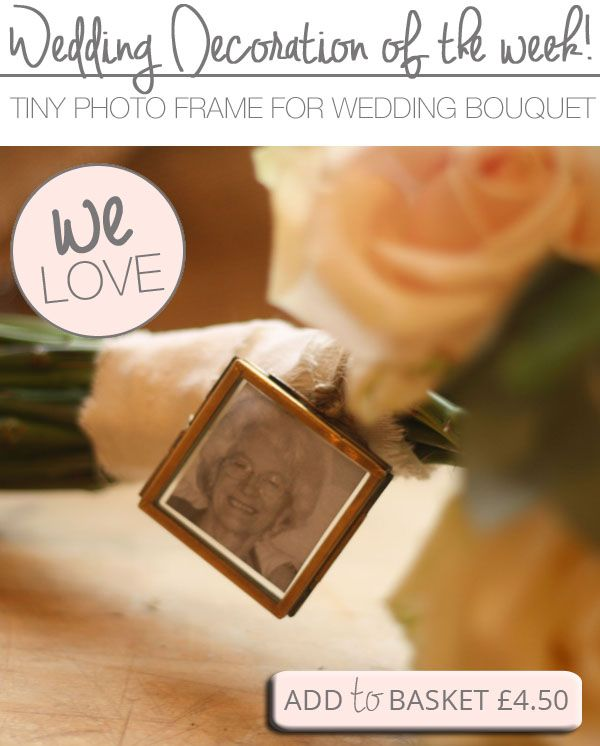 Mini Photo Frame For Wedding Bouquets   Mini photo, Minis and Wedding