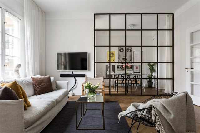 Cozy Modern Apartment In Stockholm Daily Dream Decor Small Apartment Interior Modern Apartment Home Living Room