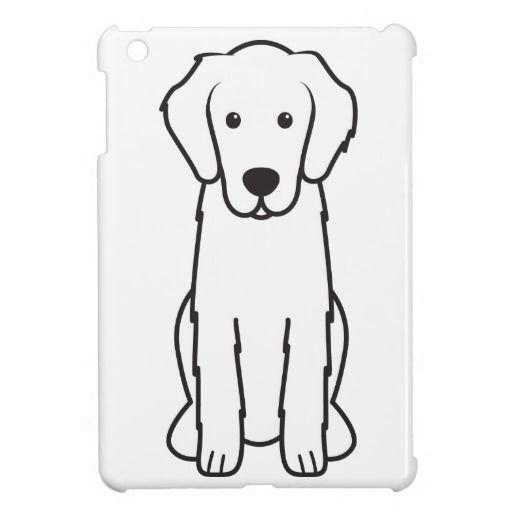 Flat-Coated Retriever Dog Cartoon Cover For The iPad Mini