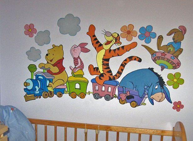 Gut Kinderzimmer Gestalten Wand