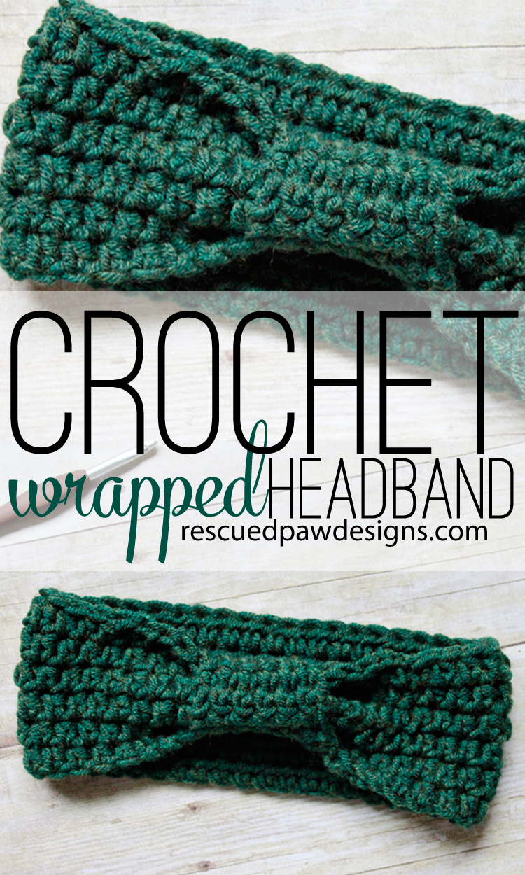 Wrapped Headband Crochet Pattern | Crochet Patterns | Pinterest