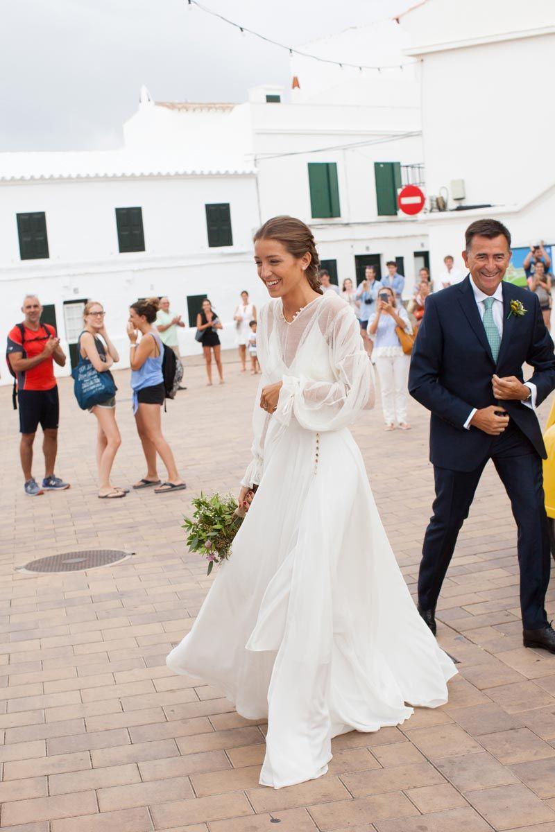 Vestidos de novia cuando se caso