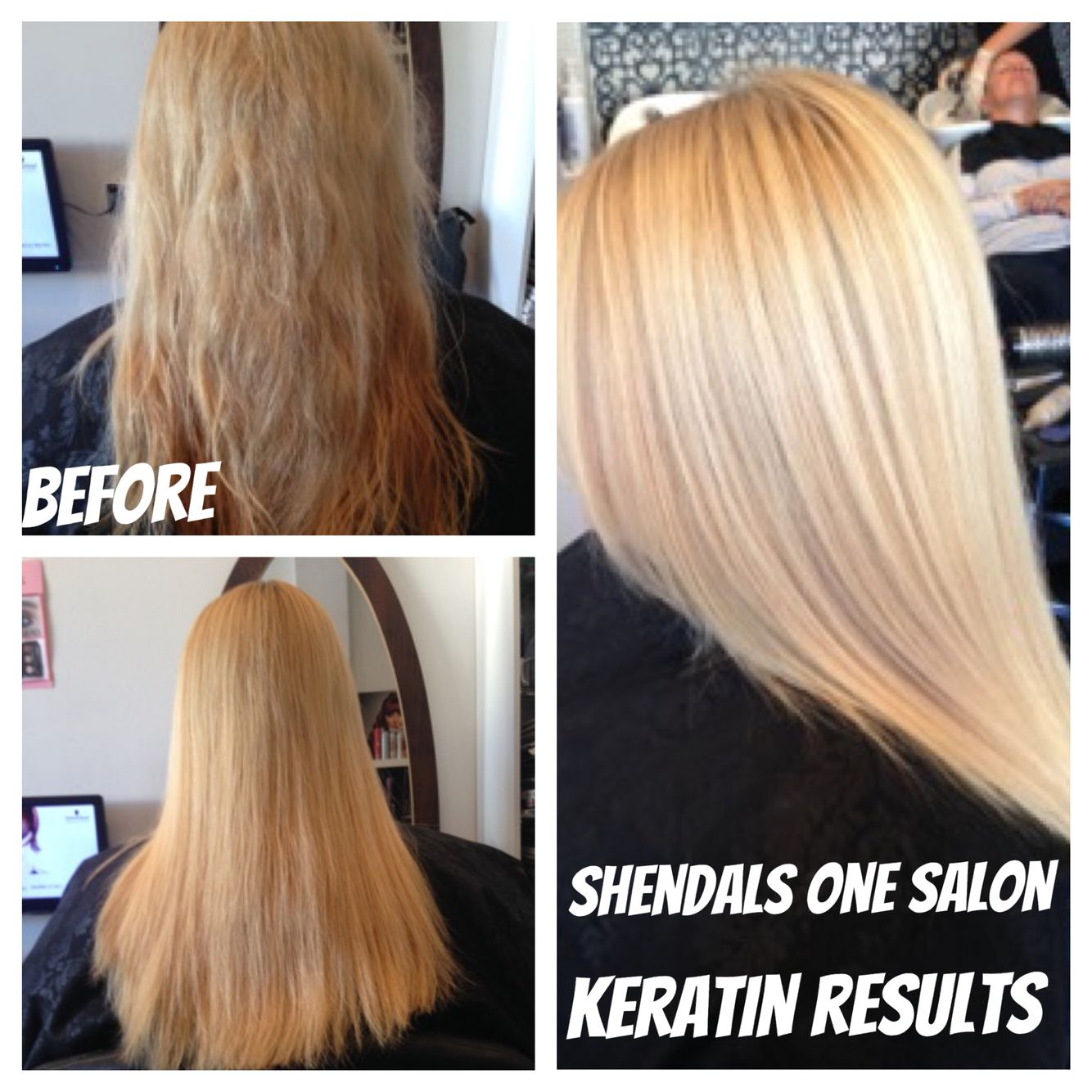 Magic straight perm vs keratin - Amazing Keratin Treatment Results Before This Hair Was Frizzy Dry After The Treatment The