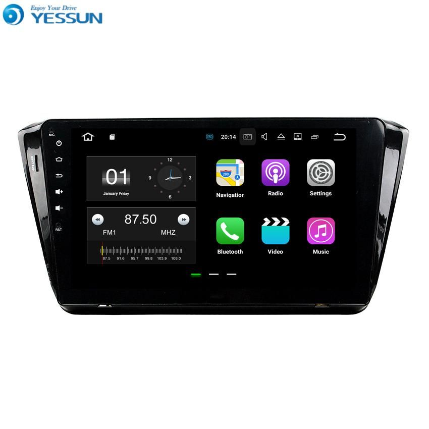 Yessun For Skoda Superb 2014 2017 Android Car Navigation Gps Hd