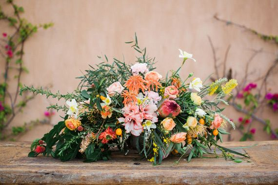Romantic mediterranean wedding inspiration | The Rancho Valencia Hotel and Spa | Photo by Shane and Lauren Photography | 100 Layer Cake