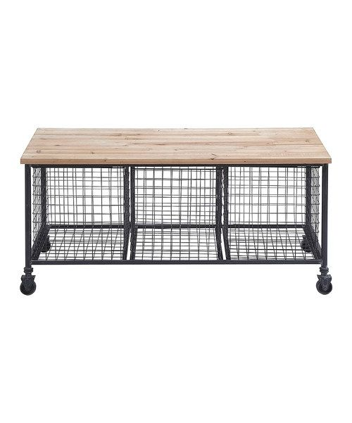 8 Best Th Main Paint Color Sw Canvas Tan Images On: Wire Basket Rolling Storage Bench Mudd Room