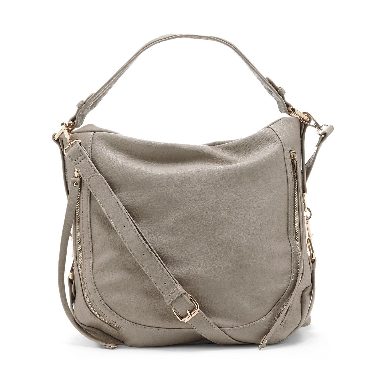 "Sole Society ""Amerie"", $59.95 - grey slouchy satchel bag - perfect for the weekend."