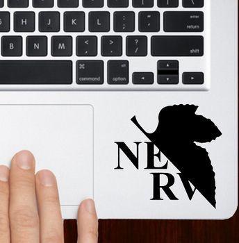 Neon genesis evangelion logo macbook pro air 13 trackpad keyboard stickers