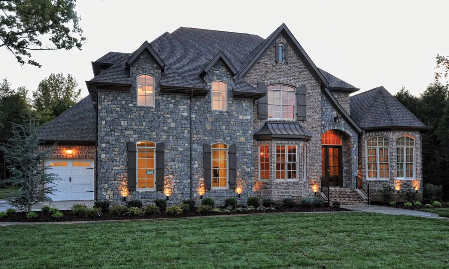 Beautiful Brick House Exterior Dream House Exterior