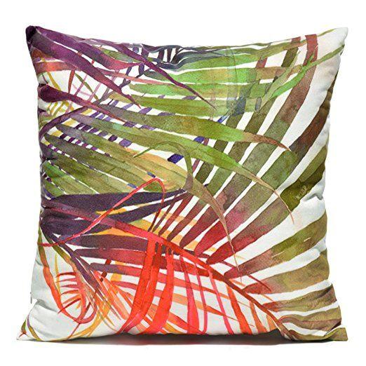 Toll Palm Tree Dekorative Kissenbezug Grün Schöne Tropical Beach   20 Dekorative  Kissenhullen