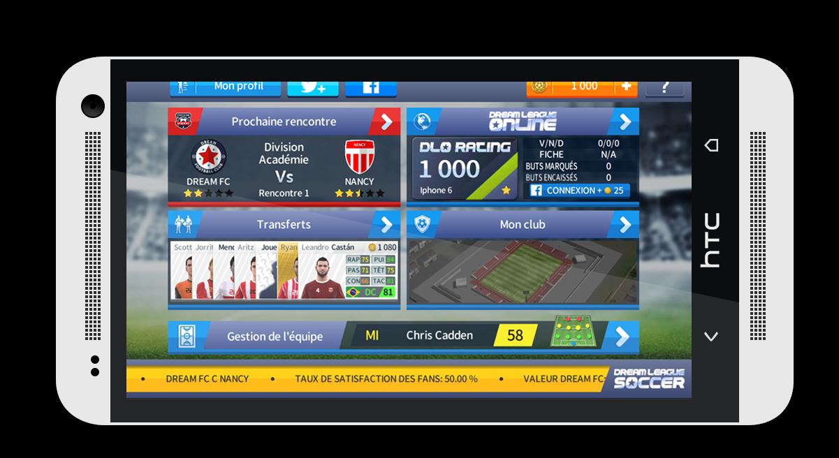 Dream League Soccer 2017 Mod APK Unlimited Coins Dream