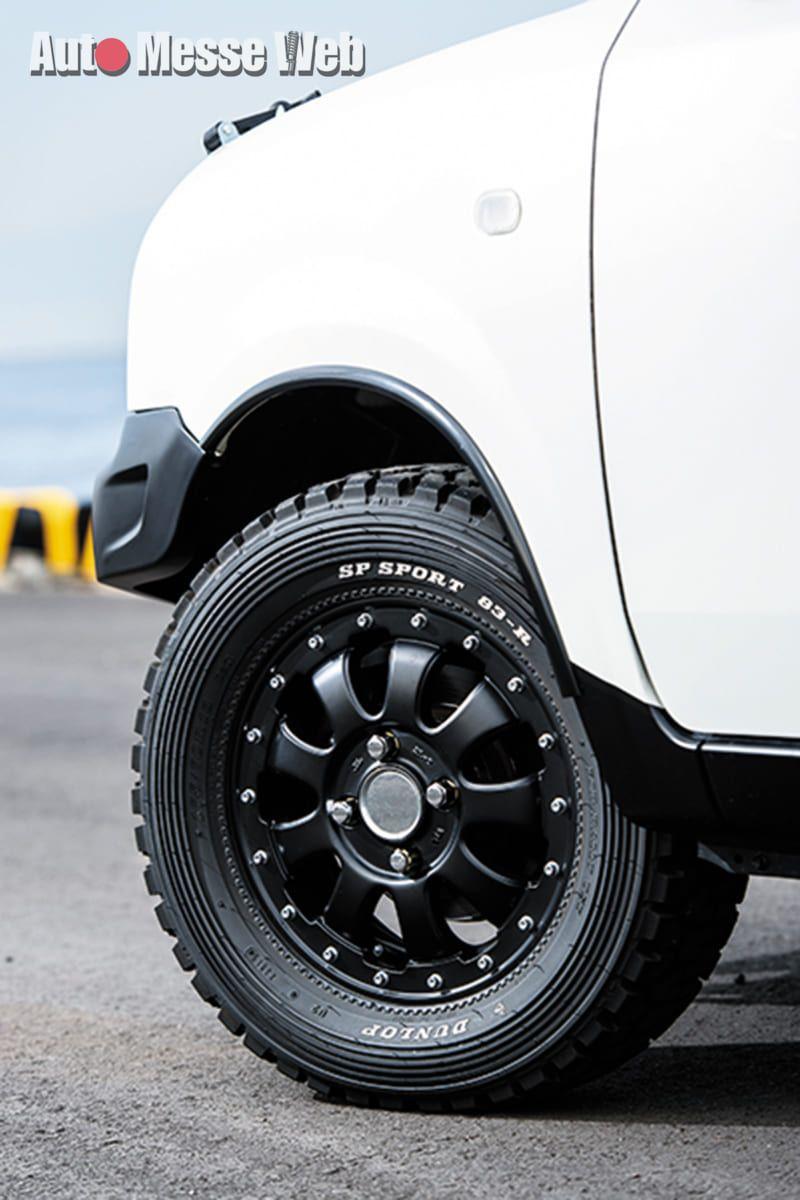 ラパンの車高アップで見えてきた 新たな軽自動車カスタムの可能性