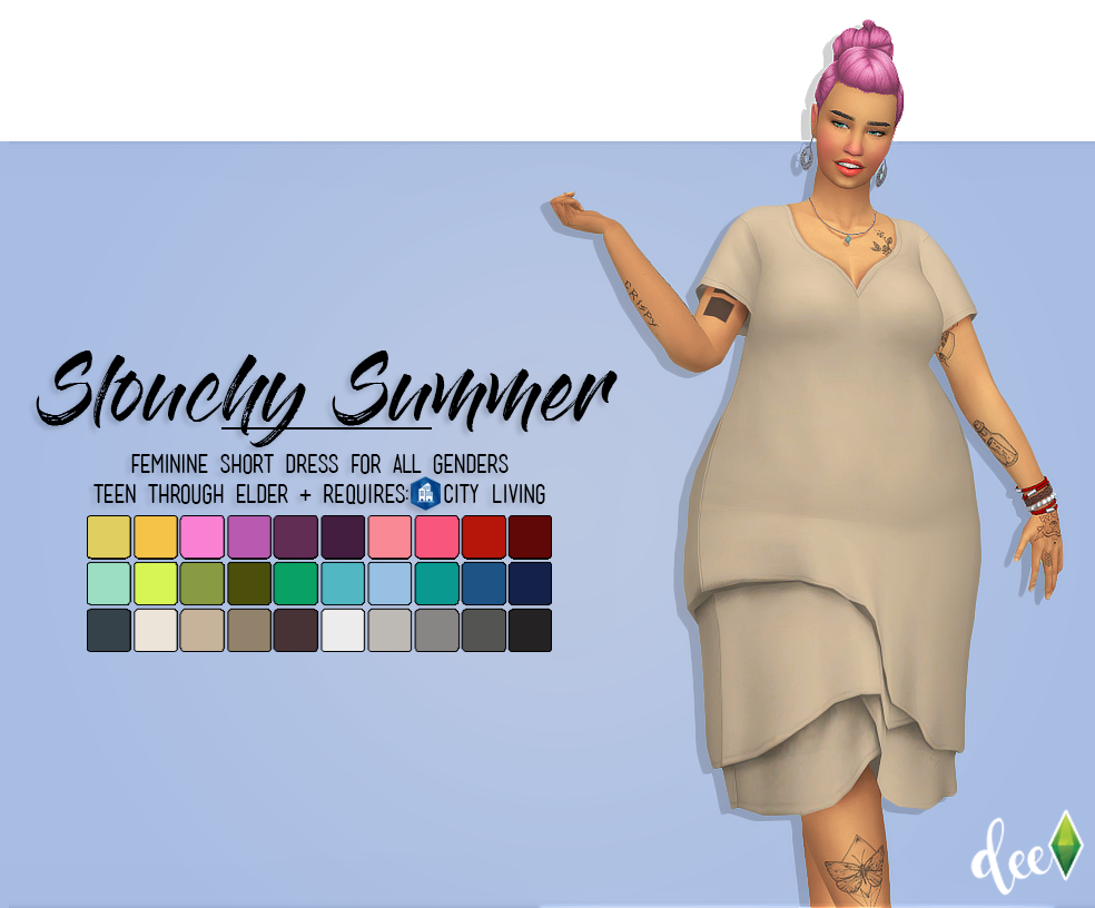 Hello my fellow simblrs! More @deetron-sims recolors for
