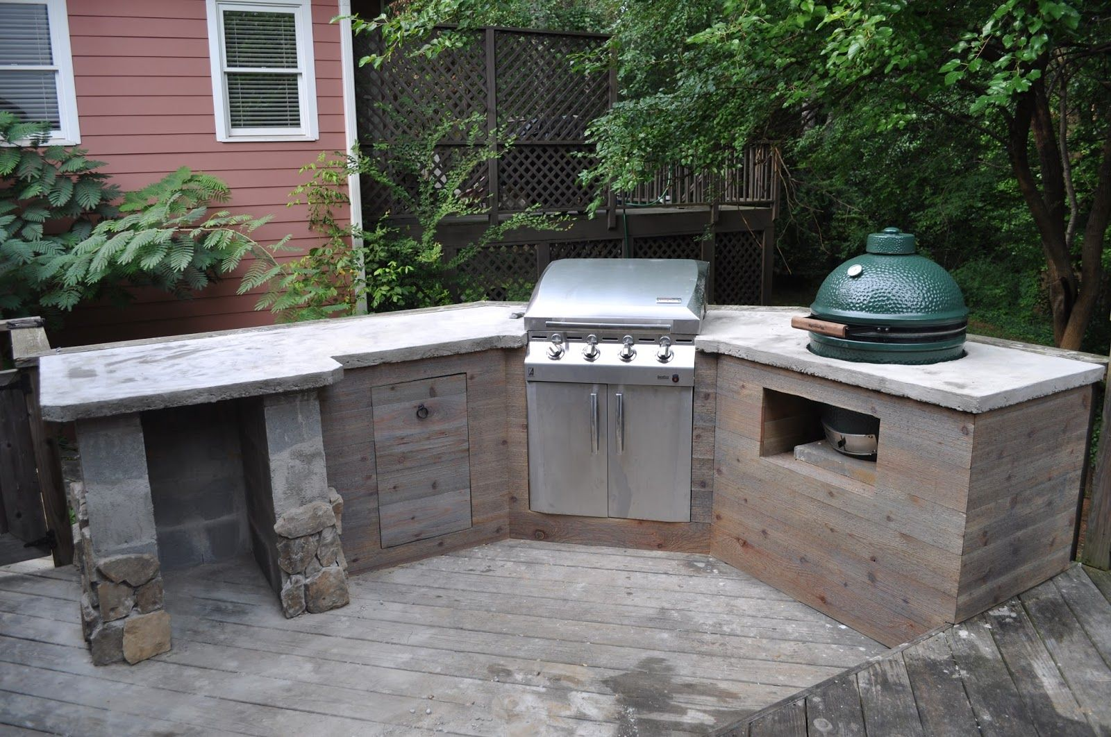 Diy outdoor kitchen kits  Related image  KS  Pinterest