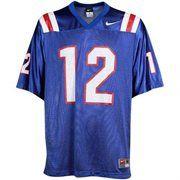sports shoes c1bca a4e0e Nike Louisiana Tech Bulldogs #12 Replica Football Jersey ...