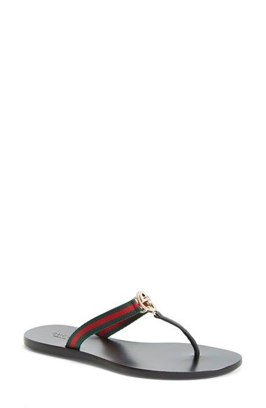 8fe5525cc430 Gucci  GG  Flip Flop (Women) available at  Nordstrom